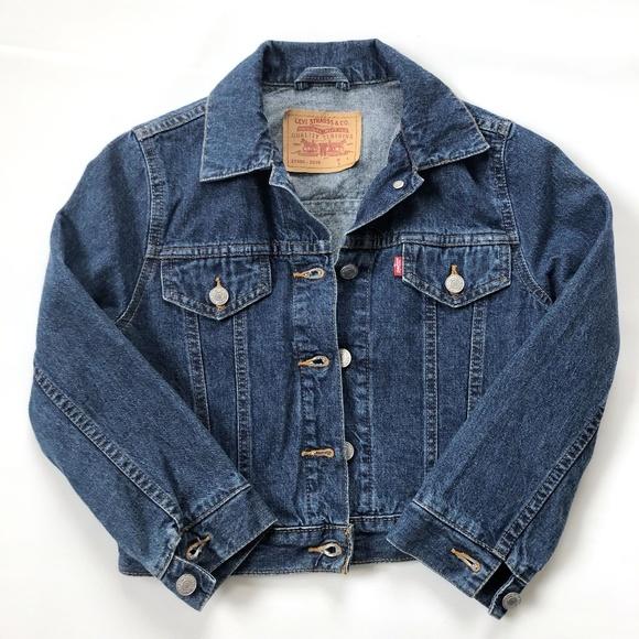 Levi's Denim Jean Jacket Girls Small (8-10)